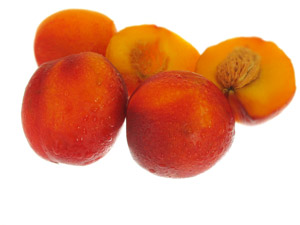 freezing peaches