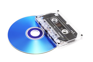 transfer cassette to cd machine