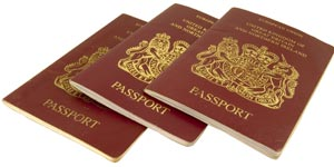 Photo of authorized passport