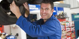 Photo of auto mechanic