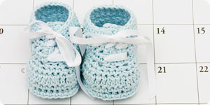 Photo of baby booties