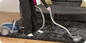 Photo of cleaning carpet