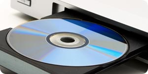 DVD player and disc