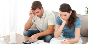 Couple with debt issues