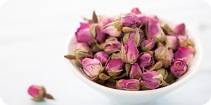 Photo of dried rose flowers