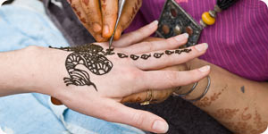 Ethnic tattoo design