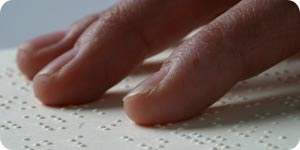 Using braille