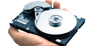 Holding a hard disk drive