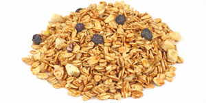 Image of granola mix