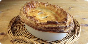 Traditional meat pie