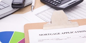 Photo of mortgage paperwork