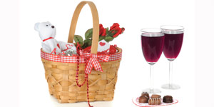 Gift basket for mothers