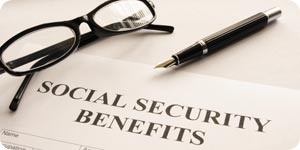 Social security benefit form