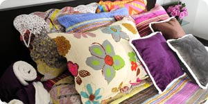 Colorful pillow cover designs