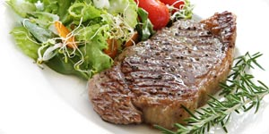 Image of raw steak