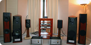 Photo of stereo system