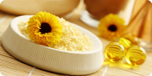 Using sunflower deodorizer
