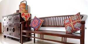 Photo of wood furniture